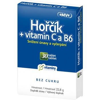 eMve Hořčík + vitamin C a B6