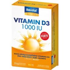 Revital Vitamin D3 Forte 1000 IU
