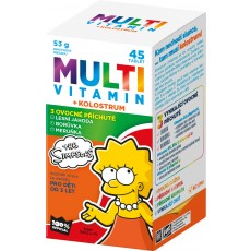 The Simpsons Multivitamin + kolostrum 45 tbl.