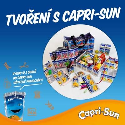 Tvoření s Capri-Sun