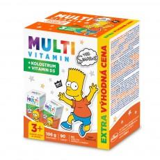 The Simpsons Multivitaminy s kolostrem - výhodné balení