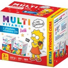 The Simpsons Multivitaminy želé - výhodné balení