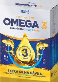 Revital Rodinná Omega 3