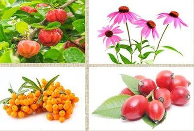 Vitaminy a přírodní extrakty