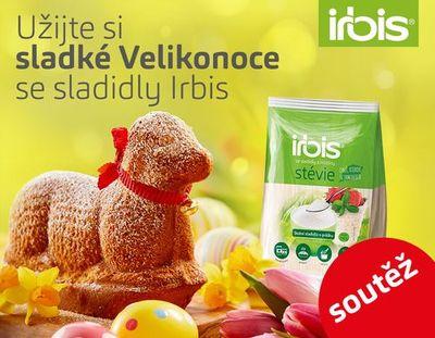 Velikonoční soutěž se sladidly Irbis
