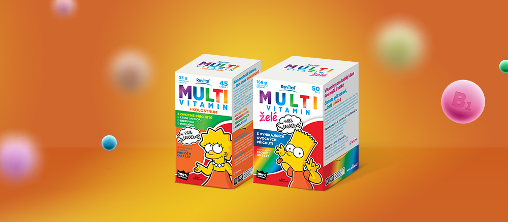 The Simpsons multivitaminy