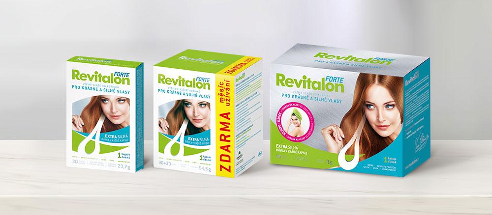 Revitalon Forte - pro krásné a silné vlasy