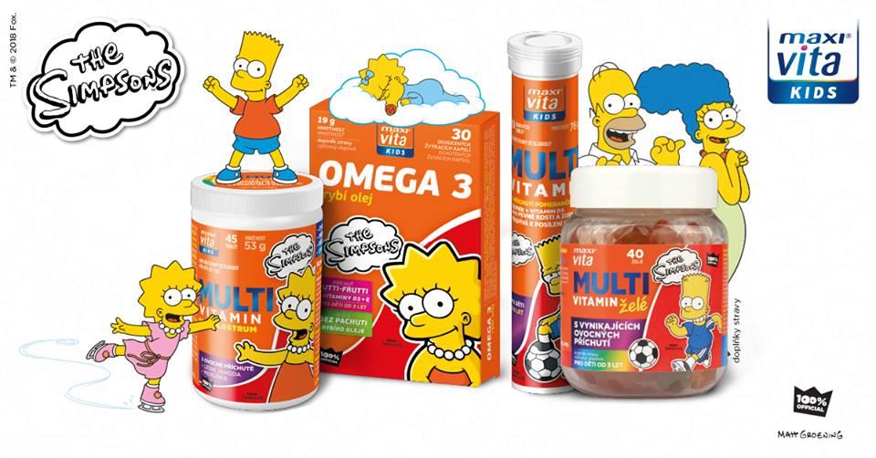 MaxiVita Kids - vitaminy pro děti