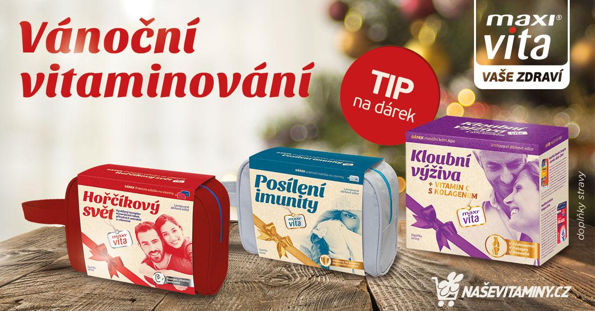 Vánoční balíčky MaxiVita