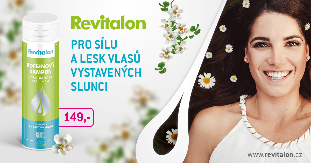 Revitalon Kofeinový šampon