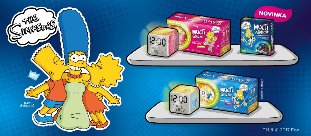 Dětské vitaminy The Simpsons