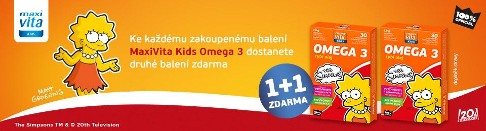 MaxiVita Kids Omega 3