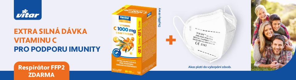 Vitar Vitamin C respirator zdarma