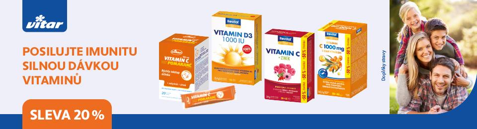 VITAR imunita 20% sleva