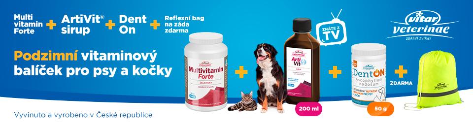 Vitar Veterinae Vitaminový balíček pro psy a kočky