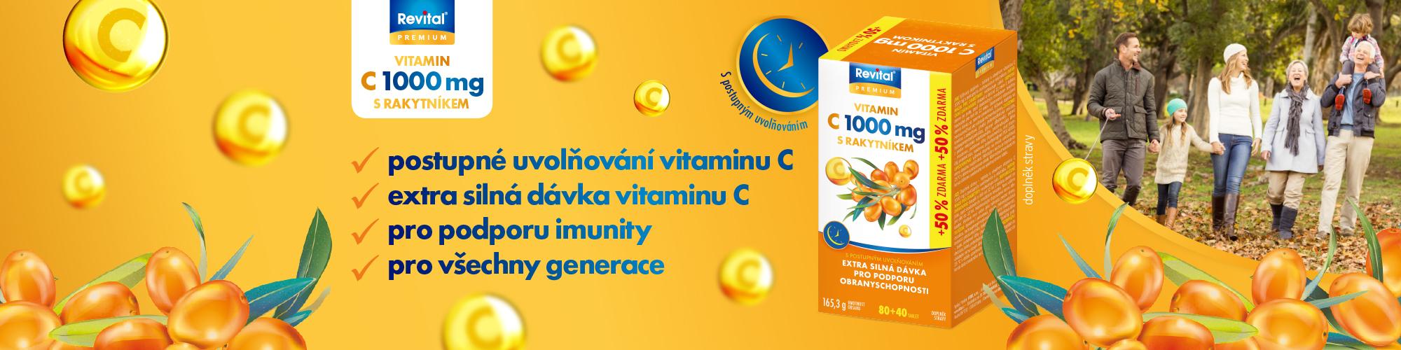 Revital Vitamin C + rakytník