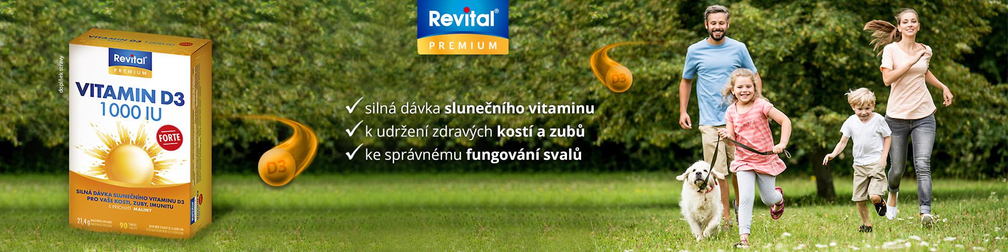Revital Vitamin D3 forte