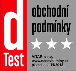 dTest certifikát